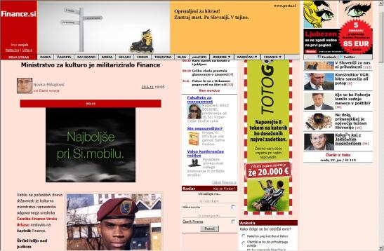 militarizacija financ