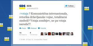 SDS vstaja zombijev