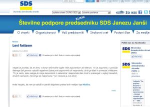 Argument ad Hitlerum na SDS strani