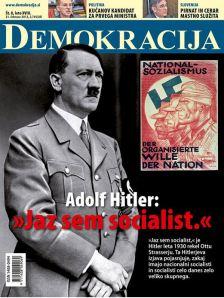 Hitler naslovnica Demokracija