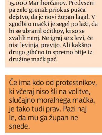 Večer Šeruga 18.3.13 Fištravec lagal