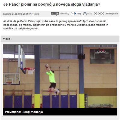 Pahor pionir slog vladanja Preverjeno