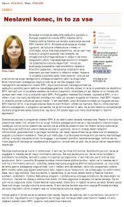 Petra Vidali cenzura EPK