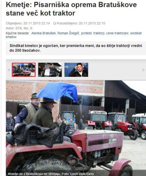 Bratušek traktorji