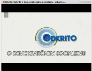 demokratično socializem Odkrito