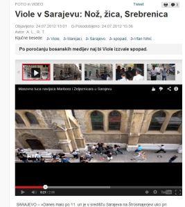Viole Nož žica Srebrenica