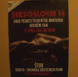 Seksoslovje plakat film snemanje