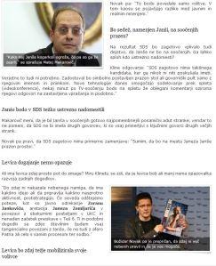 Makarovič Novak Planet SIOL komentar Dob Janša