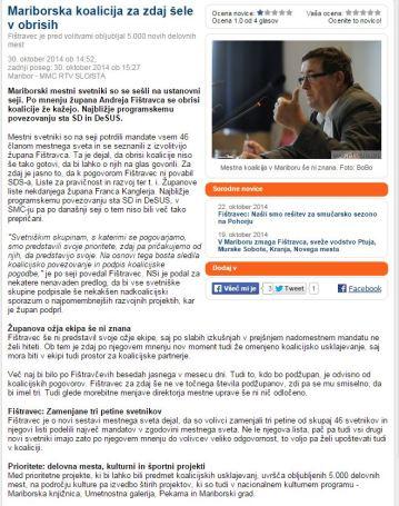 Mestni svet Maribor konstitucija MMC