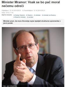 Mramor pač Slovenske novice