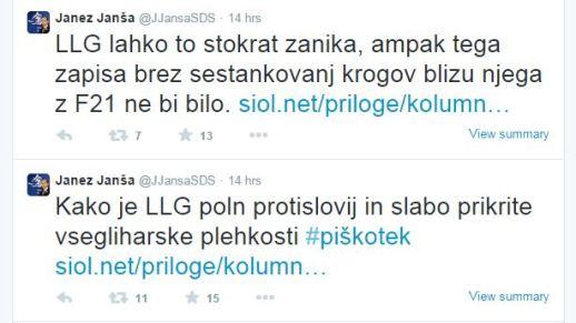 Luka Lisjak Janša piškotek
