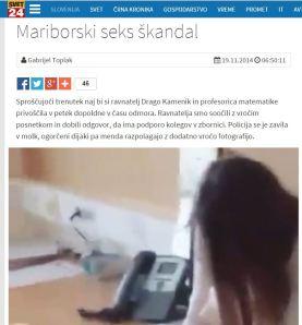 Maribor seks afera svet24