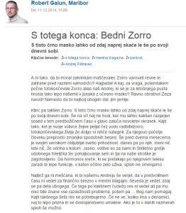 Galun Zorro Delo