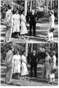 Hitler Goebbels retuš