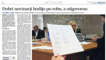 Zaveze novinarjev Delo članek 19.12.
