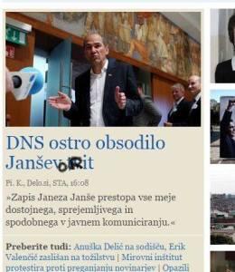 Janša tvit Janševa rit
