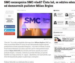 SMC nezaupnica Večer