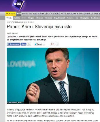 Pahor Krim B92
