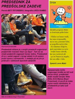 Pahor Mladinamit Nike čevlji Start up days