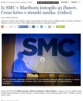 SMC maribor izstopi SIOL