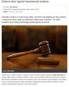Sodni svet Dolinšek Dnevnik
