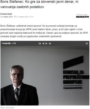 Štefanec intervju Dnevnik