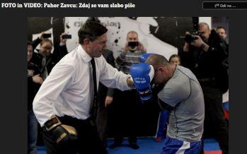 Pahor Zavec boks Večer