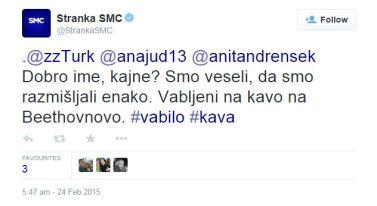 Turk SMC dobro ime tvit
