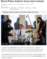 Pahor bobna Slovenske novice
