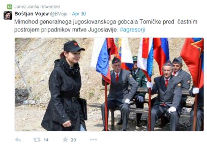 Janša Tomić tvit