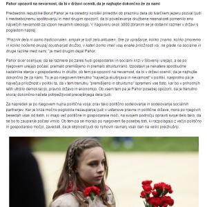 Pahor kriza 24ur kriza