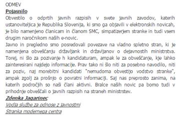 Pozareport SMC javni zavodi pojasnilo