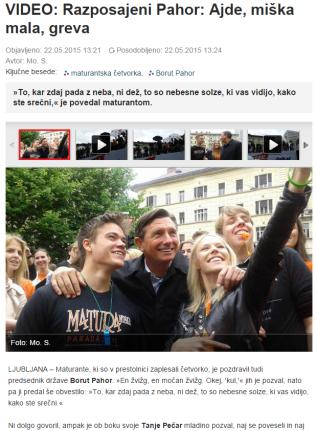 SN Pahor četvorka