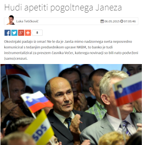 Svet25 Janša Večer cenzura