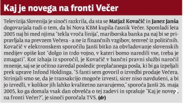 Večer NKBM Janša Kovačič