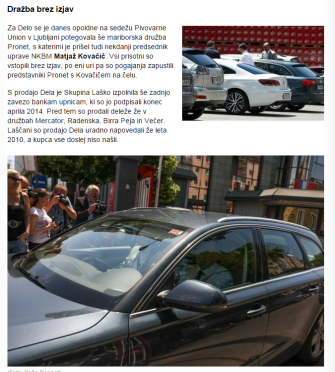 Kovačič Pronet Žurnal Delo