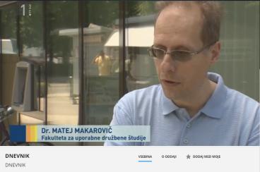 Makarovič TV Dnevnik 3.6.15 Janševa medijska hiša