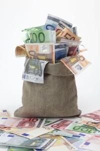 vreča denarja