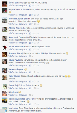 FB pahor katrca mnenja komentatorji