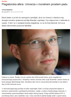 Klipšteter komentar Logožar Dnevnik