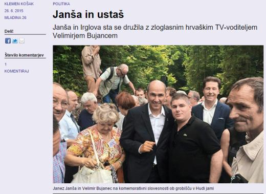 Bujanec Janša Mladina