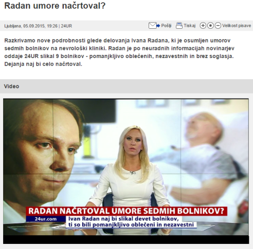 Radan POP TV načrtoval umore