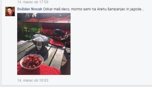 Novak piše Stepišniku
