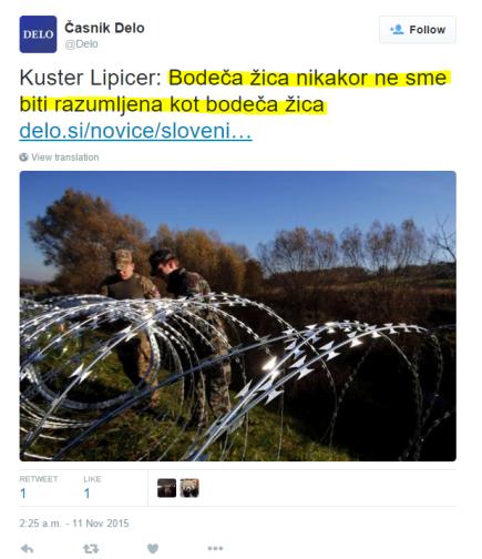 Kuster Lipicer Delo žica ni žica
