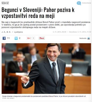 Pahor DZ begunci Zurnal