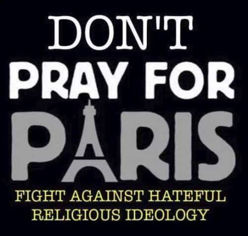 Paris dont pray for