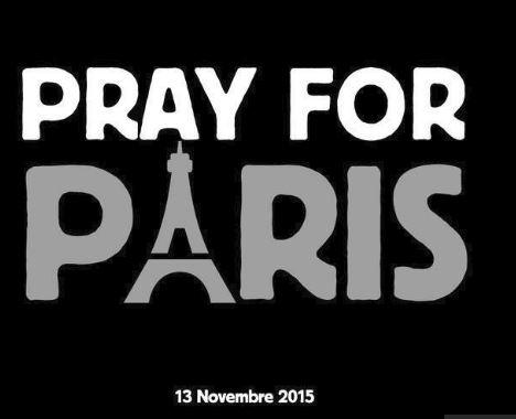 Paris pray for