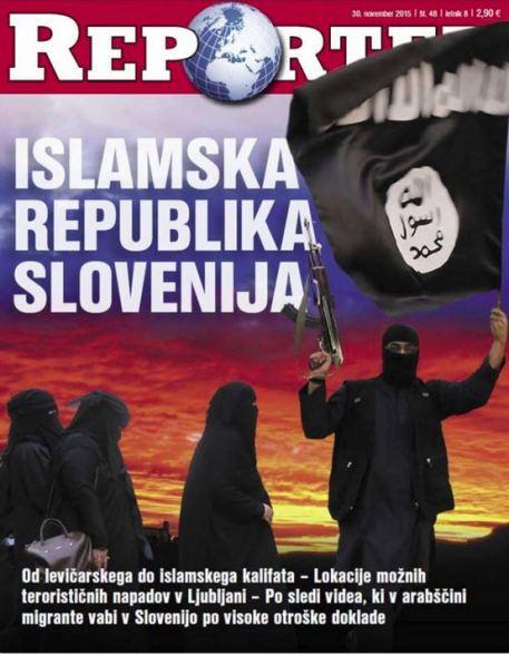 Reporter naslovnica Islamska republika