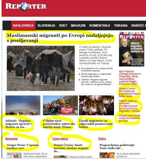 Reporter vstopna stran 9 primerov begunci sovraštvo