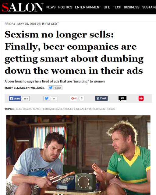 Salon seksizem se ne prodaja